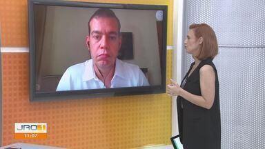 Novo Coronavírus: Rodrigo Almeida, médico, explica o modo correto de usar a máscara - Novo Coronavírus: Rodrigo Almeida, médico, explica o modo correto de usar a máscara