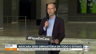SP1 - Edição de Segunda-Feira, 04/05/2020 - Medidas mai restritivas no trânsito começam a funcionar em São Paulo. Estado tem mais de 2.600 mortes por causa do novo coronvírus. Mais de 280 empresas já foram interditadas por não respeitarem o decreto da quarentena obrigatória.
