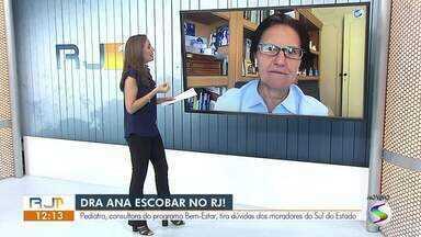 Dra Ana Escobar tira dúvidas sobre o coronavírus - Pediatra e consultora do Bem-Estar respondeu perguntas dos telespectadores.
