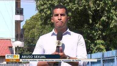 Polícia Civil de Linhares recebe novas denúncias contra animador de festa, no ES - Ele é suspeito de ter estuprado seis crianças.