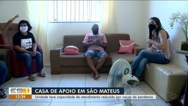 Pandemia reduz atividade de Casa de Apoio, em São Mateus, no Norte do ES - Instituição reduziu atendimentos por causa de pandemia do novo coronavírus.