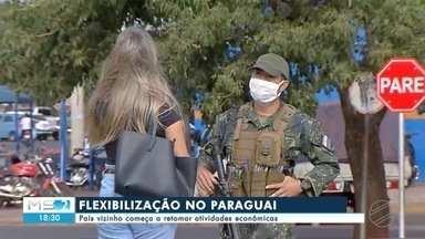 Paraguai começa a retomar atividades econômicas - Paraguai começa a retomar atividades econômicas