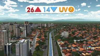 Confira a previsão do tempo para esta terça-feira, 5, na região - Confira reportagem do Jornal Vanguarda desta segunda-feira (4).