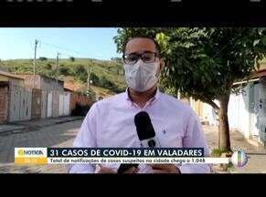 Covid-19: Prefeitura de Governador Valadares confirma novo caso; total chega a 31 casos - Total de notificações de casos suspeitos chega a 1.048.