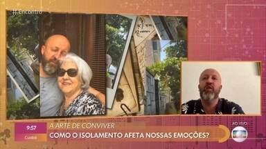 Fabrício Carpinejar lança livro sobre isolamento social - Poeta se emociona ao pensar na situação da mãe, que está sozinha aos 81 anos