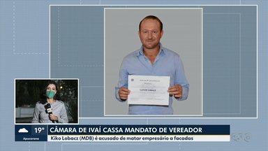 Vereador é cassado em Ivaí - Kiko Lobacz é o principal suspeito da morte de comerciante e perdeu mandato por quebra de decoro