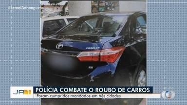 Polícia Civil deflagra operação Falsum, em Goiânia, Aparecida de Goiânia e Rubiataba - Foram cumpridos dez mandados, sendo três de prisão preventiva, dois de prisão temporária e cinco de busca e apreensão.