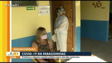 Prefeitura adapta escola para atender pacientes de Covid-19 - Prefeitura adapta escola para atender pacientes de Covid-19