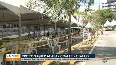 Procon quer suspender o funcionamento da 'Feira de Troca', em Campina Grande - A feira acontece aos sábados, no José Pinheiro.