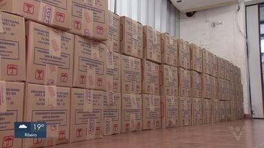 Cestas básicas da 1ª Corrida Virtual A Tribuna são entregues em entidade - Casa da Vó Benedita recebeu doação de produtos nesta terça-feira (5).