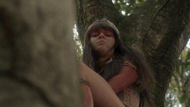 Jacira decide ir atrás de Piatã - A índia conta a Jurema que foi pedida em namoro por Piatã