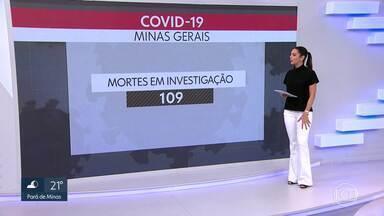 Minas tem 97 mortes por COVID-19 - O número de casos confirmados subiu para 2.605. Outras 109 mortes são investigadas.
