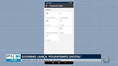 Governo estadual lança Poupatempo Digital para consultas e serviços online - Aplicativo traz os serviços que normalmente são realizados no Poupatempo.