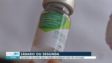 Secretaria de saúde deixa cidades escolherem data de vacinação contra a gripe - Secretaria de saúde deixa cidades escolherem data de vacinação contra a gripe