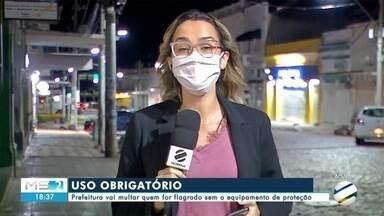 Prefeitura de Corumbá vai multar quem for flagrado sem máscara - Prefeitura de Corumbá vai multar quem for flagrado sem máscara