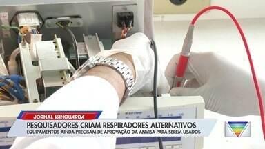 Pesquisadores criam respiradores alternativos - Confira reportagem do Jornal Vanguarda desta quarta-feira (6).