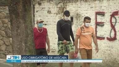 Uso obrigatório da máscara pode evitar contaminação pela Covid-19 - Acessório ajuda na luta contra o novo coronavírus e é obrigatório no estado a partir desta quinta-feira (7).