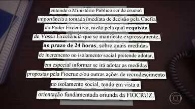 """Ministério Público quer estudo sobre """"lockdown"""" - Fiocruz defende o bloqueio total de pessoas e carros"""