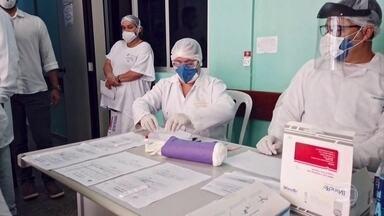 Número de pessoas infectadas pelo coronavírus dispara no Amapá - Nos hospitais, corpos de vítimas dividem espaço com pacientes internados.