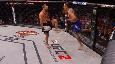 UFC é o primeiro evento mundial a retornar; volta será sem plateia - Assista ao vídeo.