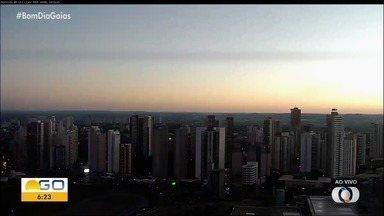 Confira como deve ficar o tempo em Goiás - Semana começa com bastante sol e sem previsão de chuva.