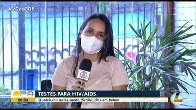 Sesma distribui quatro mil testes de HIV/Aids em Belém - Os autotestes devem ser disponibilizados a partir desta segunda-feira, 11 de maio.