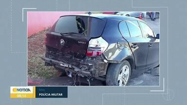 Dois acidentes foram registrados na madrugada deste domingo (10) em Montes Claros - Em um deles, o motociclista acabou batendo em um poste e morreu no local.