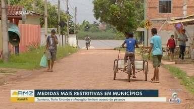 Justiça do Amapá determina novas medidas para reduzir a circulação de pessoas - Medida pede mais rigos nas fiscalizações.