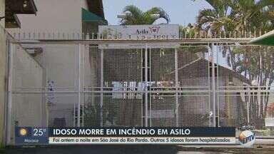 Idoso morre carbonizado em São José do Rio Pardo após incêndio em asilo - Outros cinco homens que estavam no local inalaram fumaça e precisaram ser entubados.
