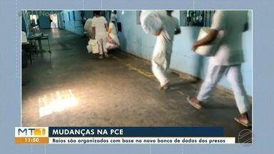 Penitenciária Central do Estado passa por nova organização dos raios - Penitenciária Central do Estado passa por nova organização dos raios.