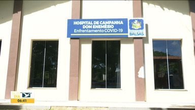 Hospital de Campanha de Balsas começa a funcionar - Espaço foi cedido pela Igreja Católica do município.