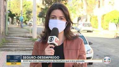 Aumenta o pedido de seguro-desemprego com a crise da COVID-19 - Minas Gerais é o segundo estado com maior número de pedidos de seguro-desemprego.