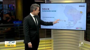 Veja o monitoramento de pessoas nas ruas de Fortaleza - Saiba mais em g1.com.br/ce