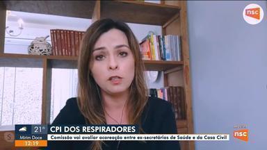Florianópolis rompe contrato com empresa de citado em investigação sobre respiradores - Florianópolis rompe contrato com empresa de citado em investigação do caso dos respiradores