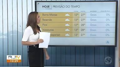 Meteorologia prevê baixas temperaturas nesta terça-feira no Sul do Rio - Termômetros não devem passar dos 15° em algumas cidades da região.