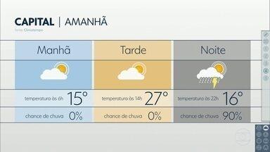 Grande São Paulo terá tarde quente até quarta-feira - Depois frente fria chega, traz chuva forte e na quinta-feira, esfria de novo.