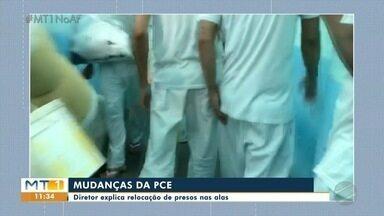 Organização dos presos na Penitenciária Central do Estado - Organização dos presos na Penitenciária Central do Estado.