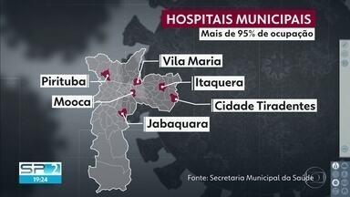 6 hospitais municipais estão lotados e não vão mais receber pacientes - Prefeitura abre edital para contratar leitos de hospitais privados