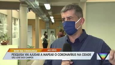 São José vai fazer nova pesquisa para mapear coronavírus na cidade - Testes serão aplicados a partir desta quarta.