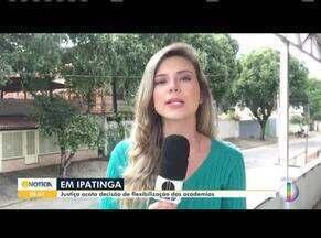 Justiça acata decisão de flexibilização das academias em Ipatinga - A decisão passa a valer a partir desta quarta-feira (13).