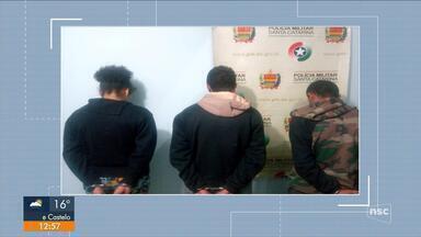 Polícia prende dois suspeitos de morte de dono de supermercado em Lages - Polícia prende dois suspeitos de morte de dono de supermercado em Lages