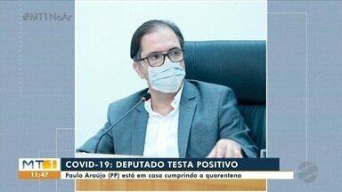 Deputado estadual Paulo Araújo testa positivo para Covid-19 - Deputado estadual Paulo Araújo testa positivo para Covid-19.
