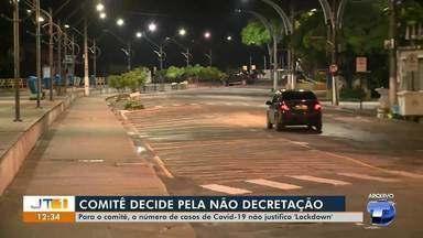 Comitê de enfrentamento ao Covid-19 em Santarém decide não decretar 'lockdown' - Saiba mais sobre as medidas adotadas no município.