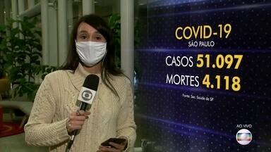 Estado de São Paulo está próximo de ter mais mortos que a China por coronavírus - São Paulo já ultrapassa o número de mortes por Covid-19 como México e Turquia. Segundo a Universidade John Hopkins, o estado está próximo de atingir outro triste recorde e ter mais mortos que a China.