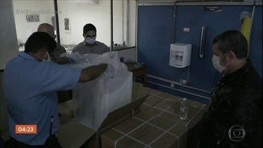 Respiradores são comprados com defeito em Belém, PA - A polícia investiga o caso e um suspeito já foi preso.