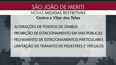 São João de Meriti adota novas restrições de circulação - Prefeitura quer restringir acesso de pessoas no município