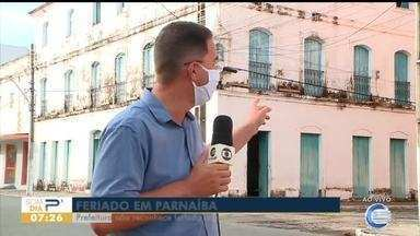 Prefeito de Parnaíba mantém serviço público mesmo com antecipação do Dia do Piauí - Prefeito de Parnaíba mantém serviço público mesmo com antecipação do Dia do Piauí