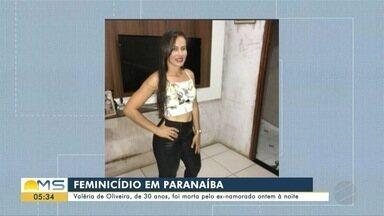 Mulher de 30 anos é morto pelo ex-namorado em Paranaíba - Mulher de 30 anos é morto pelo ex-namorado em Paranaíba