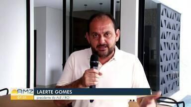 ALE deve doar 50 milhões de reais para o combate aos novo coronavírus - O anúncio foi do presidente da Assembléia Legislativa Laerte Gomes
