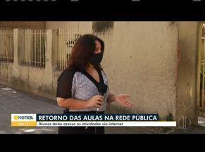 Governo Estadual anuncia aulas não presenciais a partir da próxima semana - Alunos terão aula pela internet no site www.estudeemcasa.educacao.mg.gov.br.